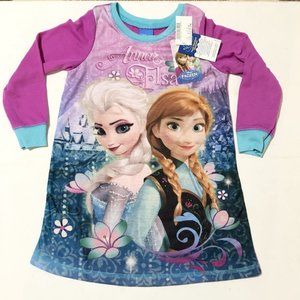 Brand new with tags FrozenAnna and Elsa sleeping dress/nighty